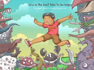 Una felicità senza aspettative: 11 passi