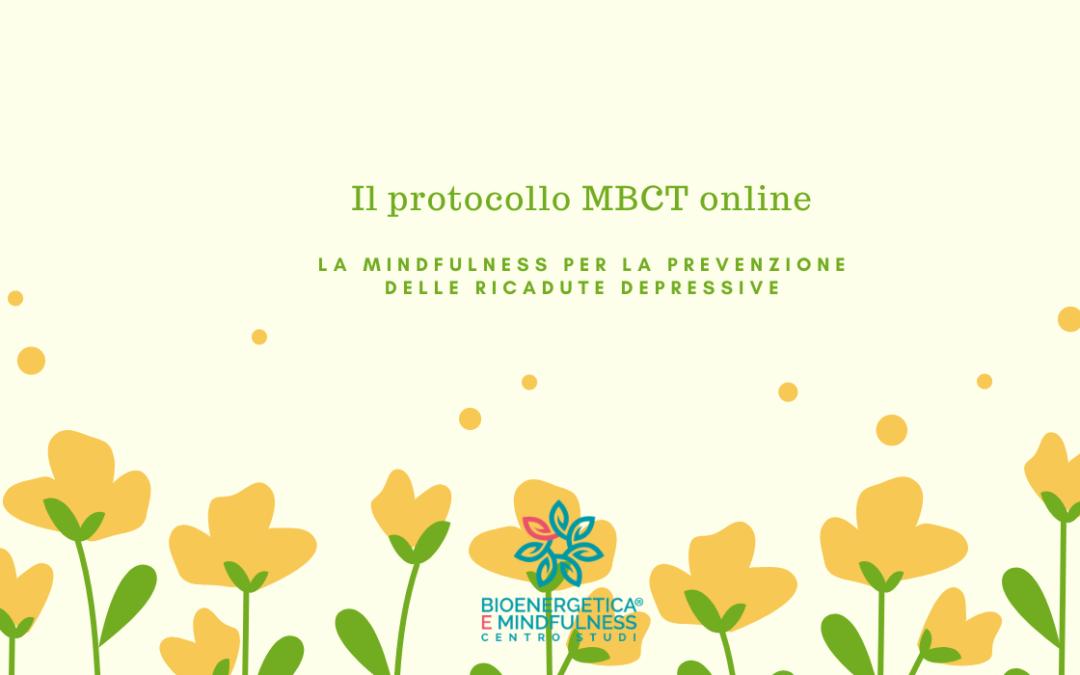 Il protocollo MBCT online