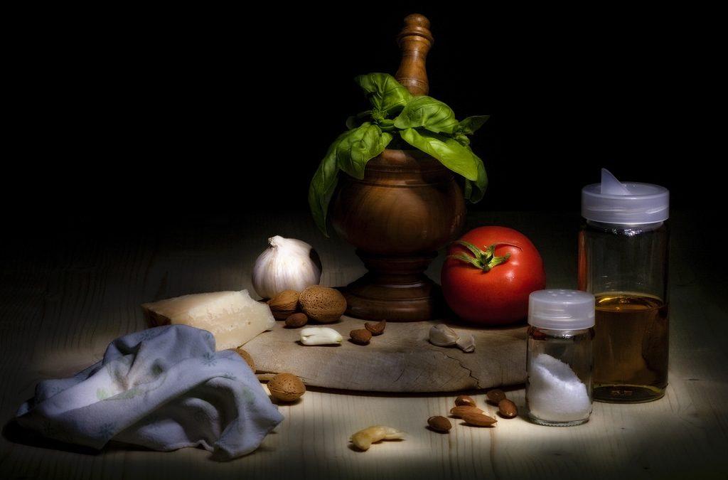 Gli ingredienti delle ricette (mindfulness)