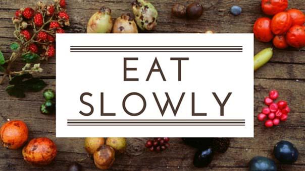 Mangiare lentamente