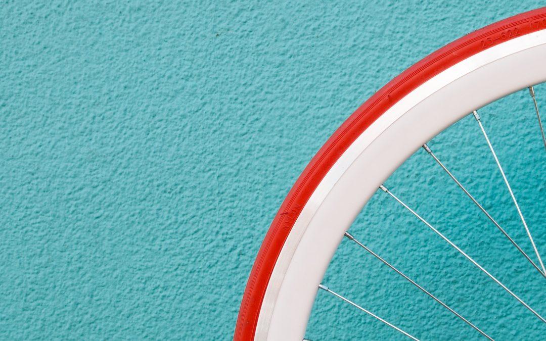 Lezione di bicicletta