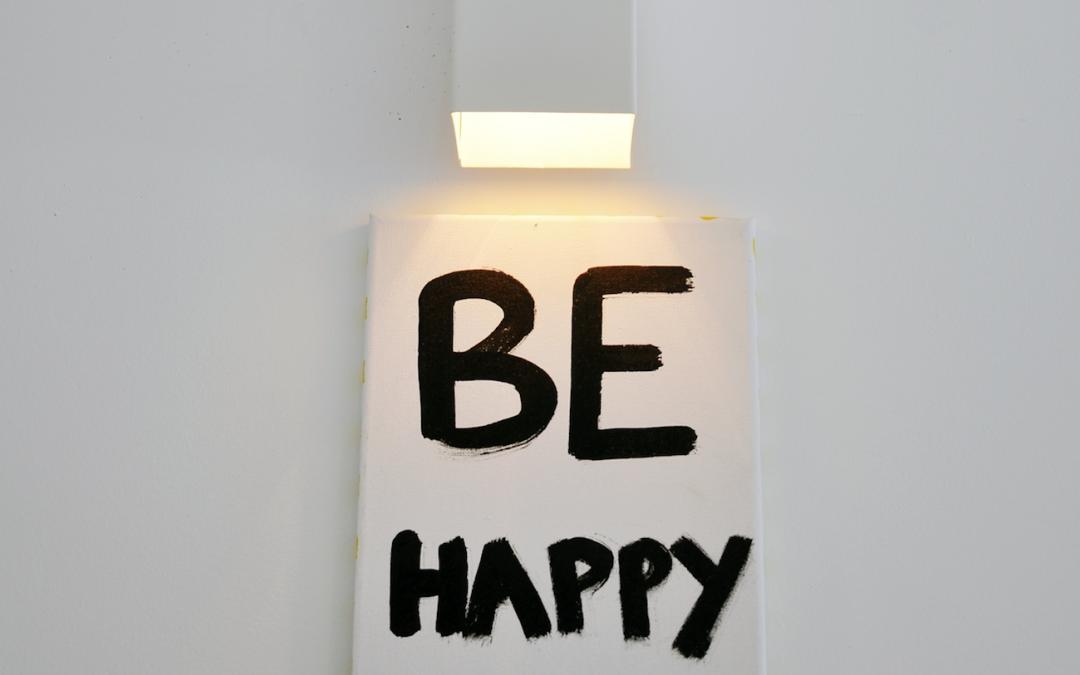 Questa storia della felicità comincia a diventare pesante!