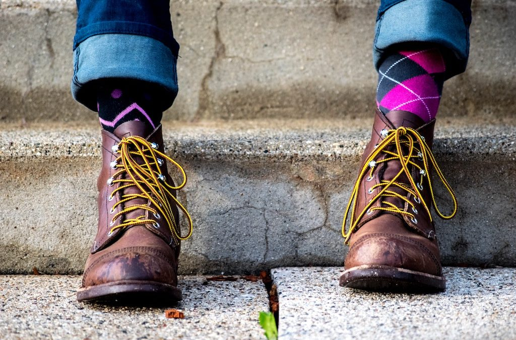 La donna ideale, l'uomo perfetto ovvero la storia del calzini spaiati