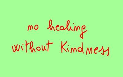 La gentilezza apre il cuore e cura