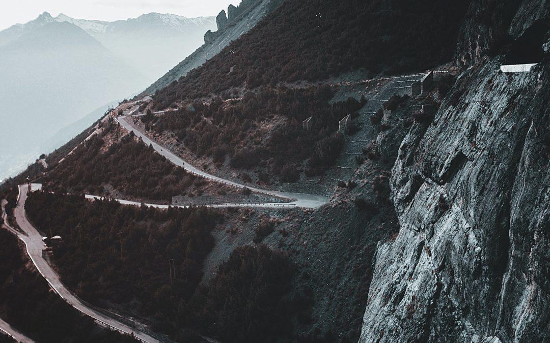 Le strade in salita